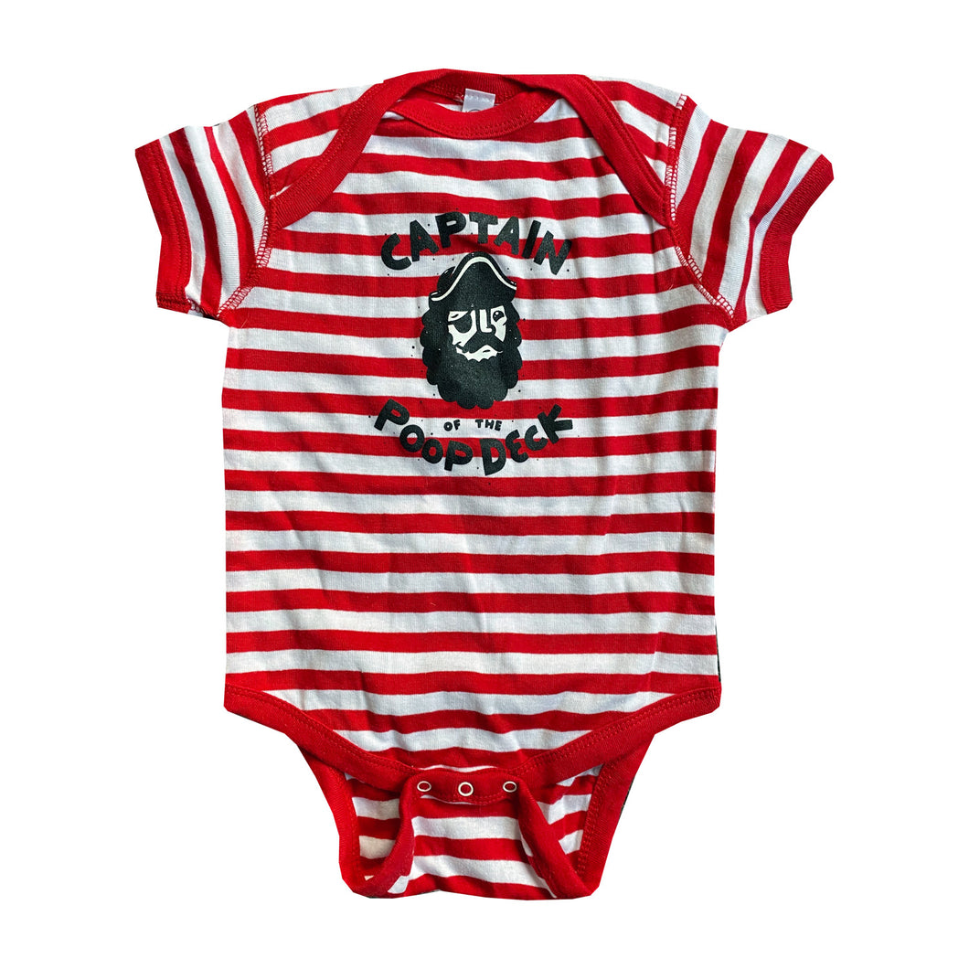 Captain of the Poop Deck Onesie - size 18mo - theMINIclassy