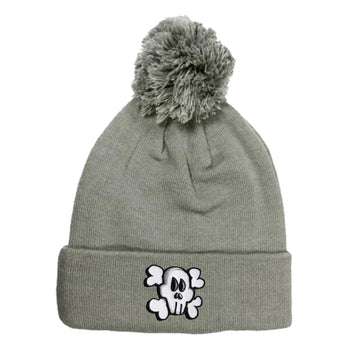 Bad to the Bone Beanie - Grey - theMINIclassy