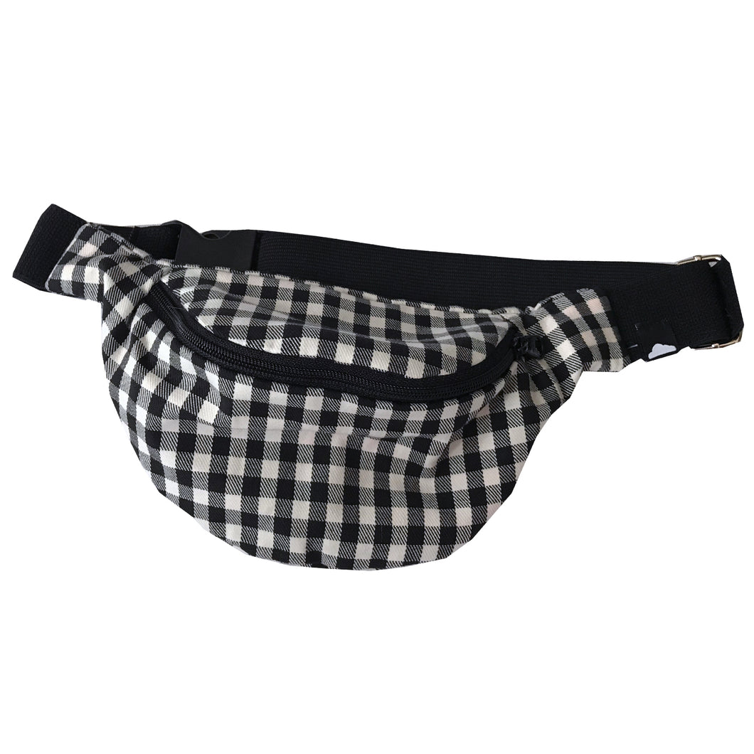 Flannel Bum Bag -