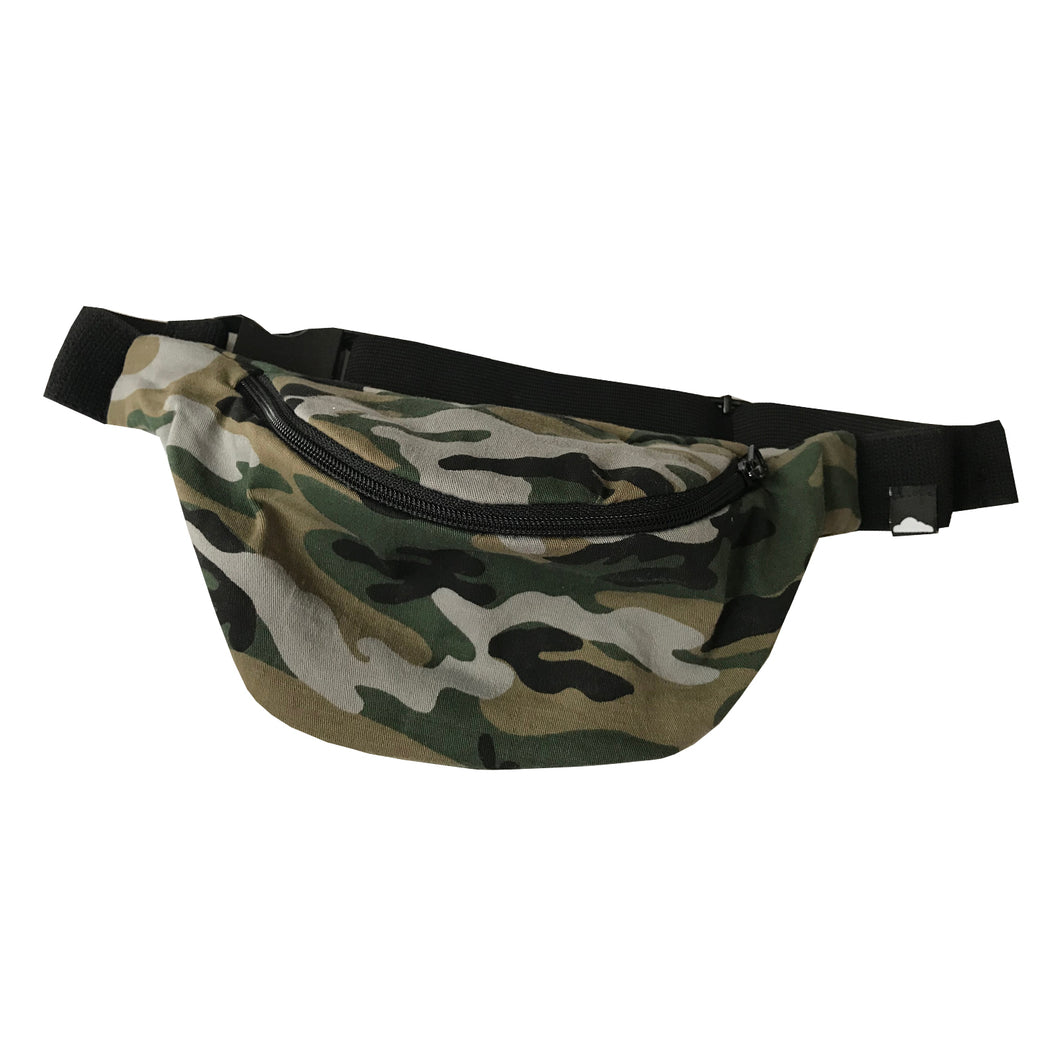 Canvas Bum Bag - Camo 4 Eva - theMINIclassy