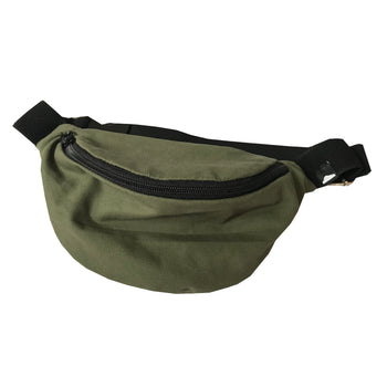 "Canvas Bum Bag - ""Olive You"" - theMINIclassy"