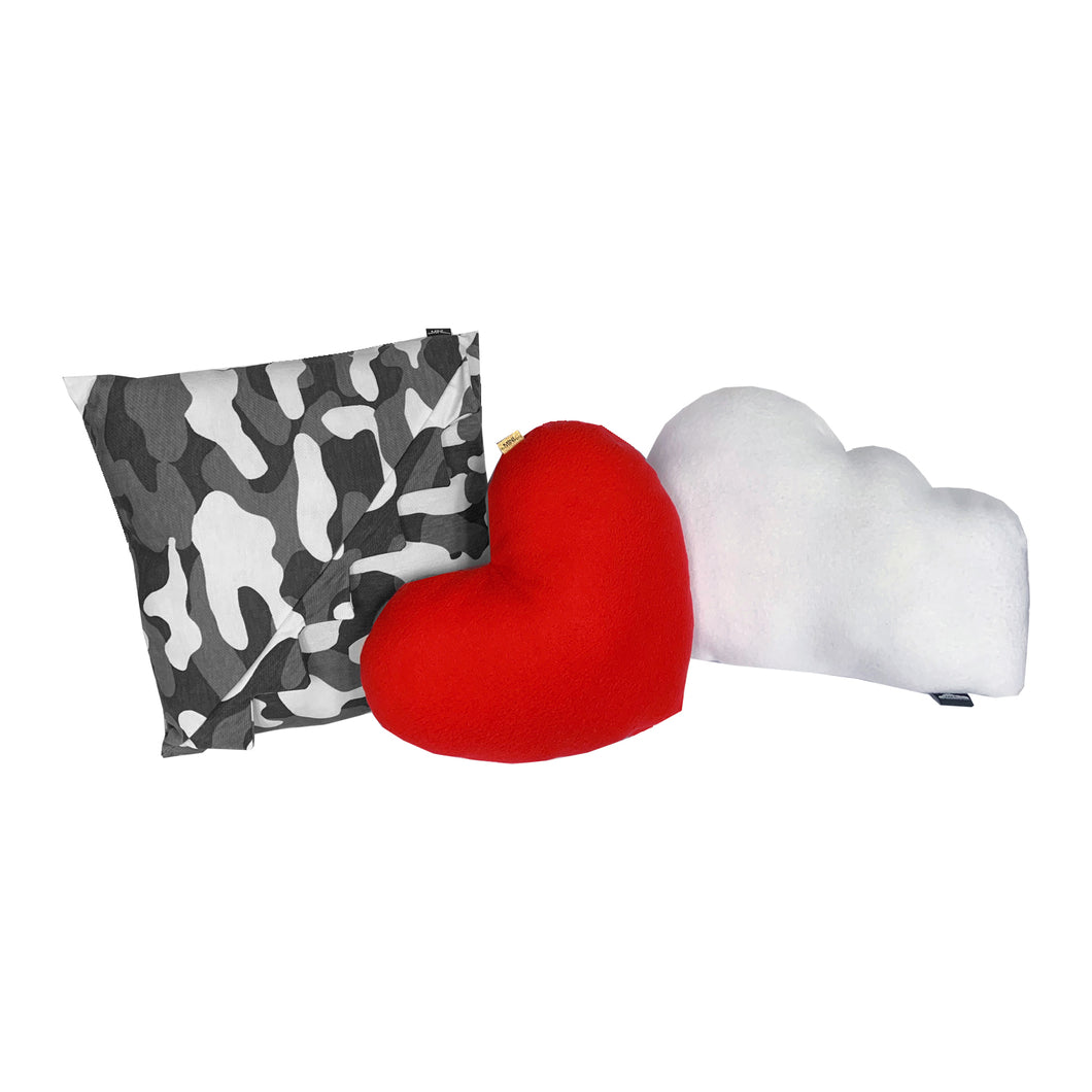 Camo 4 Eva Pillow Set - Grey - theMINIclassy