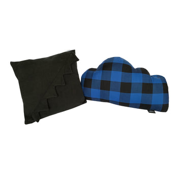 Mad 4 Plaid Pillow Set - Blue/Black - theMINIclassy
