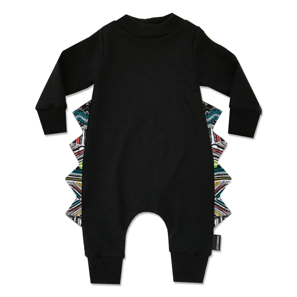 Level Up Tribal Spike Layette Romper - theMINIclassy
