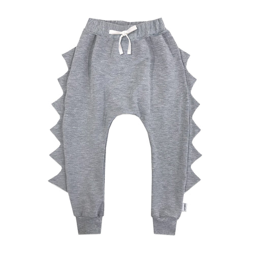 The Spikeosaurus - Original Dino in Heathered Grey - theMINIclassy