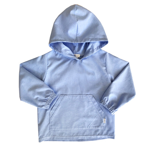 The 36th Chambray Hoodie Pullover - theMINIclassy