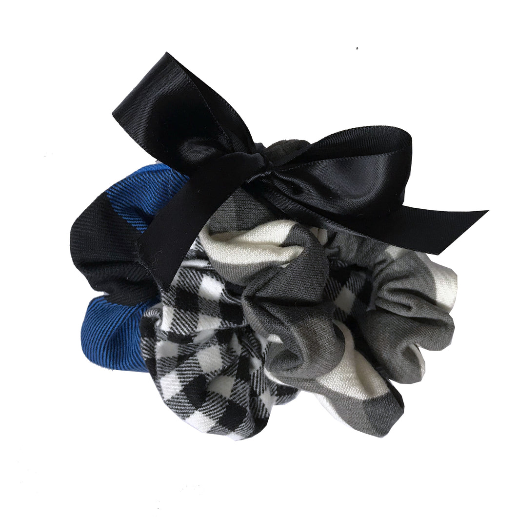 Scrunchies - Mad 4 Plaid (3-Pack) - theMINIclassy