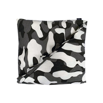 Camo 4 Eva Dino Pillow - Grey/White Camo - theMINIclassy