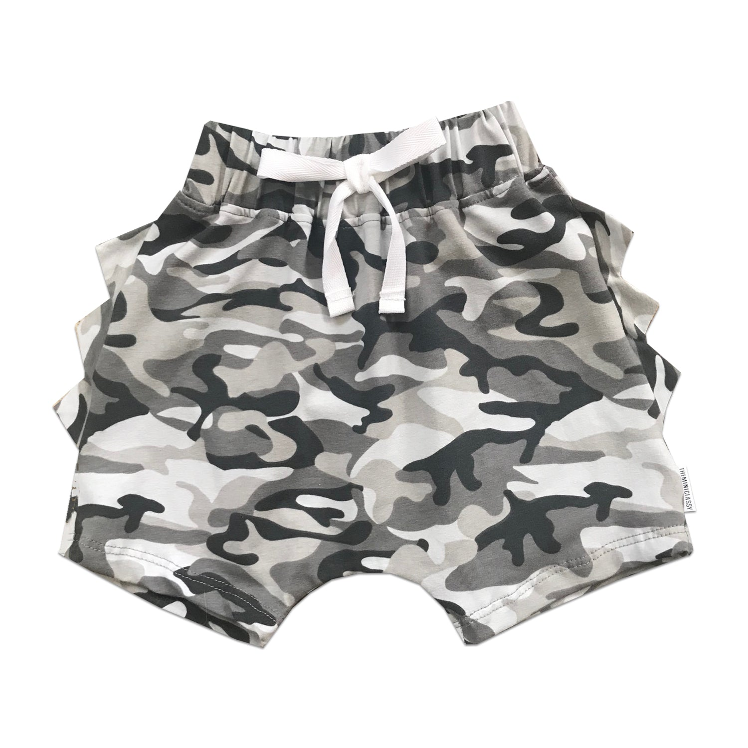 b14a61fb32 All Camo Everything Dino Shorts – theMINIclassy