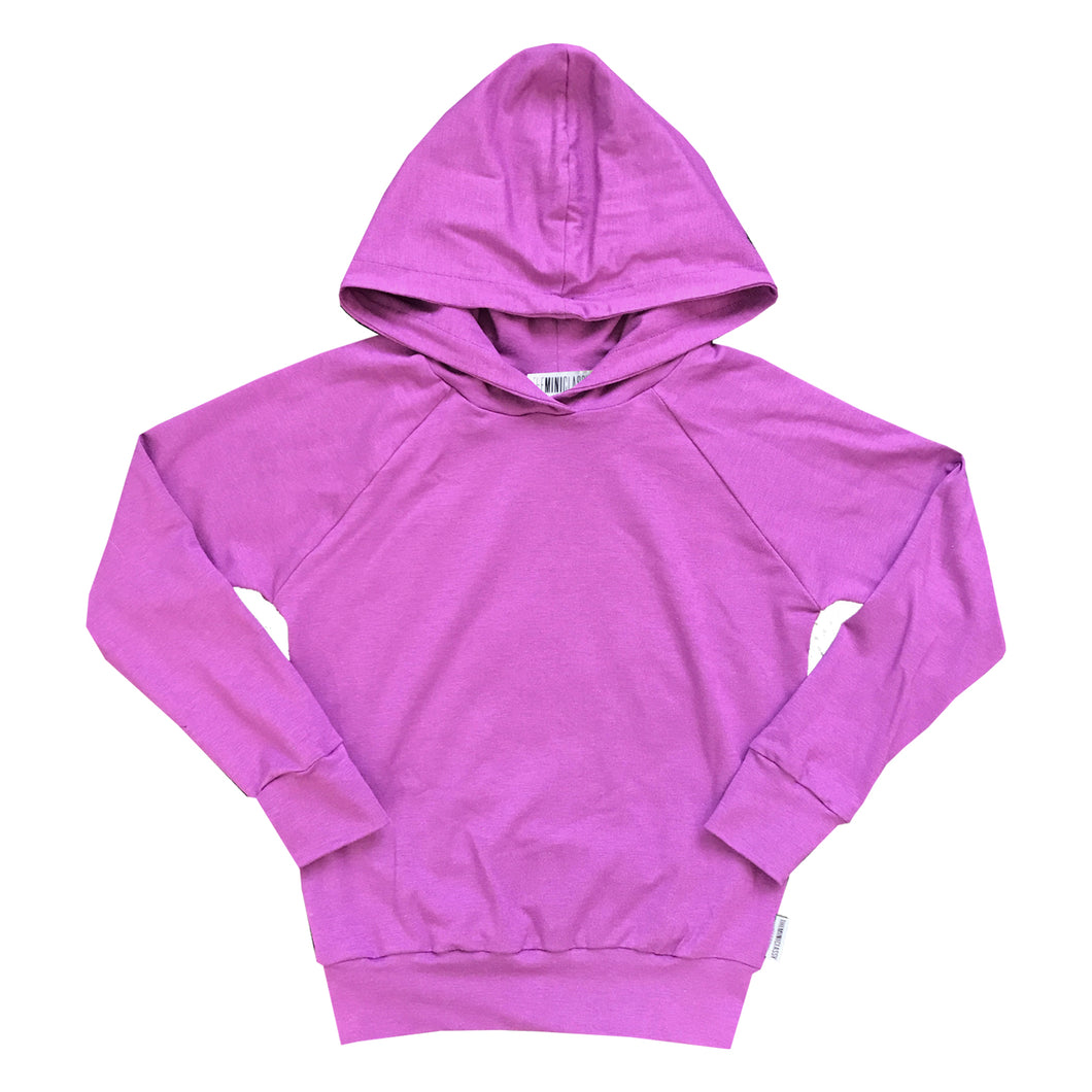 Not-So-Basic Grape Crush Hoodie with Pockets - theMINIclassy