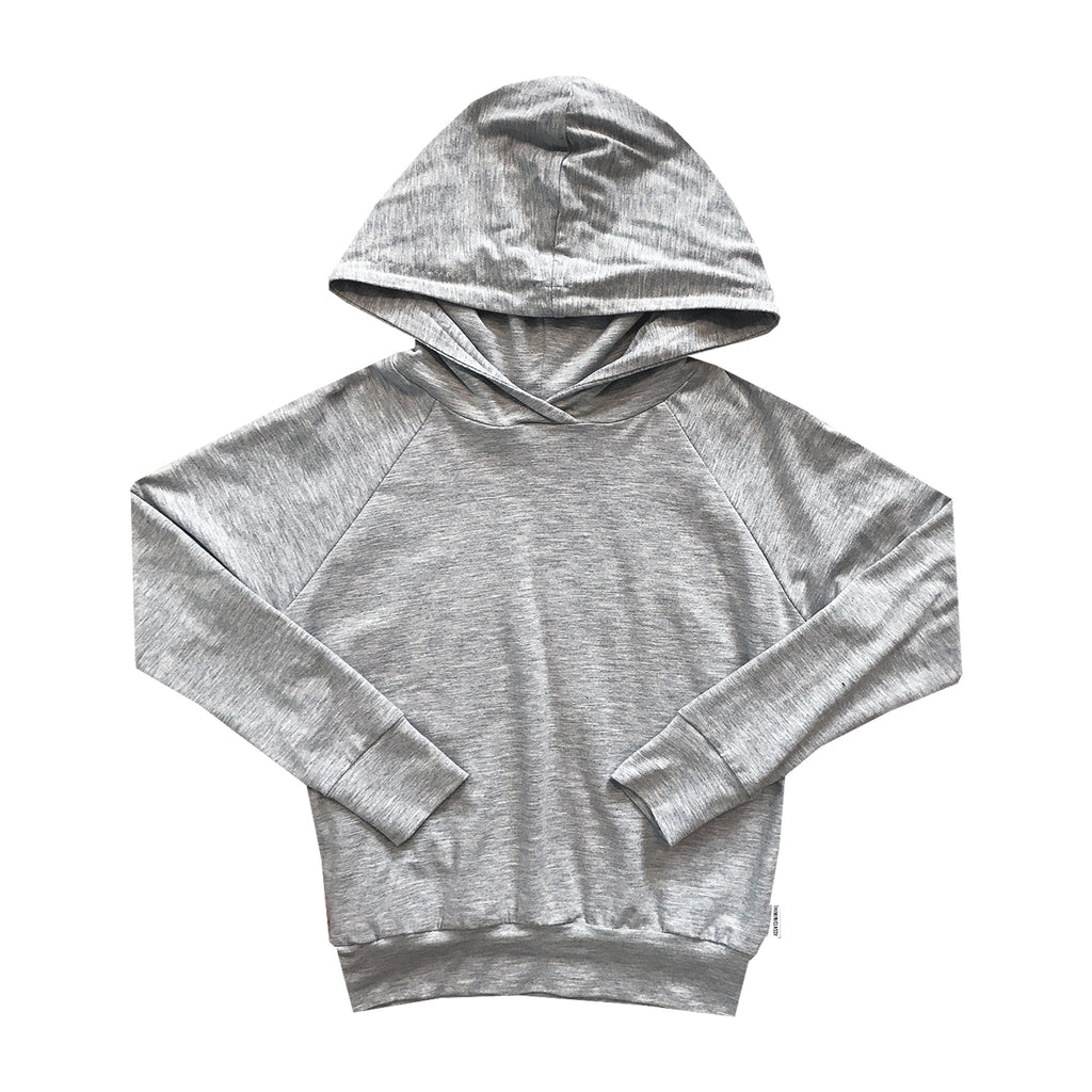 Not-So-Basic Ash Grey Hoodie with Pockets - theMINIclassy
