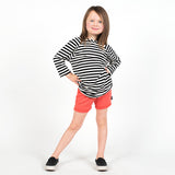 Righteous Raglan - Blazed BW - theMINIclassy