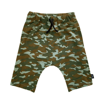 Camo Athletic Shorts - theMINIclassy