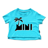 MINI Cropped Top - Blazin' Blue - theMINIclassy