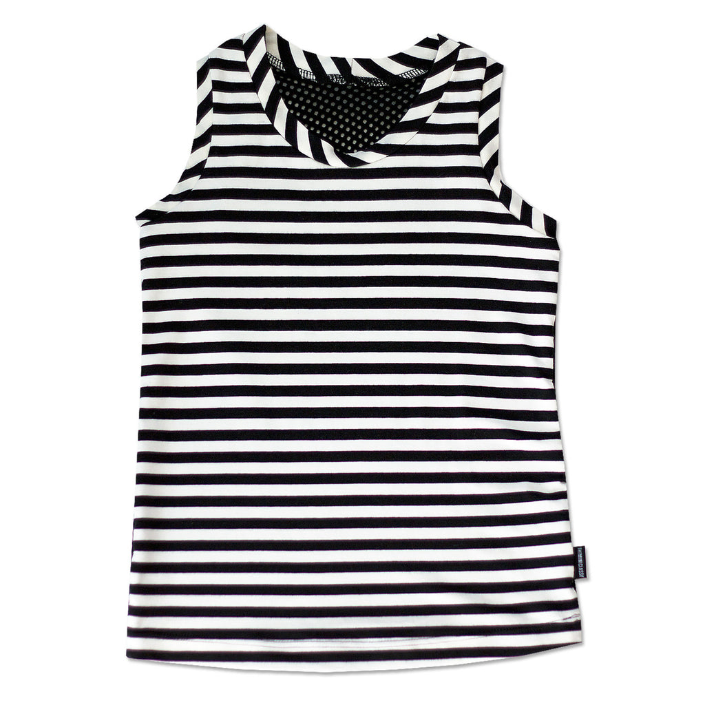 Blazed Stripes Tank with Mesh Back - theMINIclassy