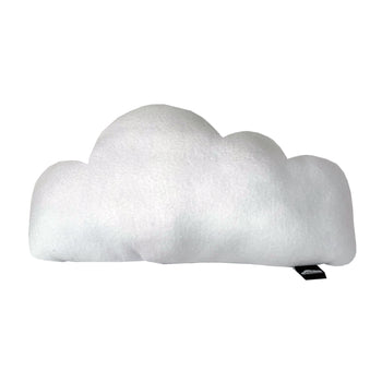 Little Fluffy Clouds Fleece Pillow - White - theMINIclassy