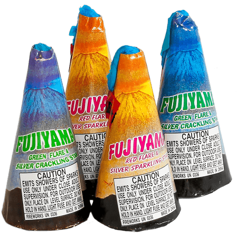 FUJIAMA CONE FOUNTAIN PACK - Online Fireworks