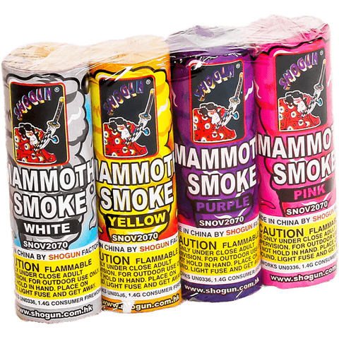 MAMMOTH SMOKE PACK - Online Fireworks