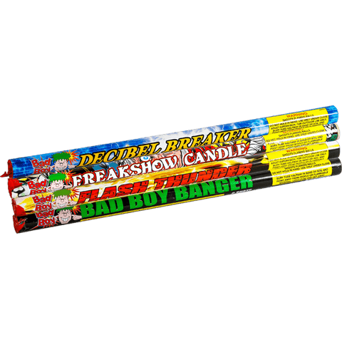 BAD BOY ASSORTED MIX - Online Fireworks