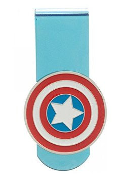 Captain America Shield Logo Money Clip