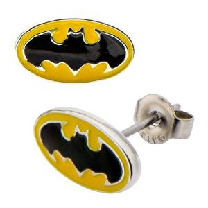 Batman Classic Logo Earrings