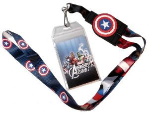 Captain America Reversible Lanyard