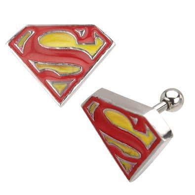 DC Comics Superman S Logo Stud Earrings