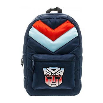 Transformers Autobot Retro Puff Backpack