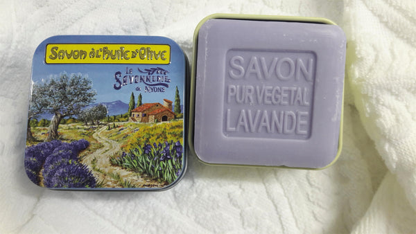LAVENDER SOAP DESIGN BOX