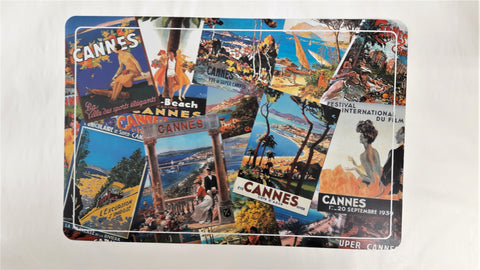Cannes Art Deco Placemat