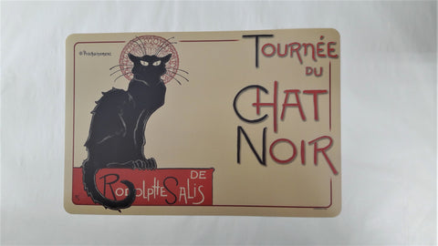 CHAT NOIR PLACEMAT