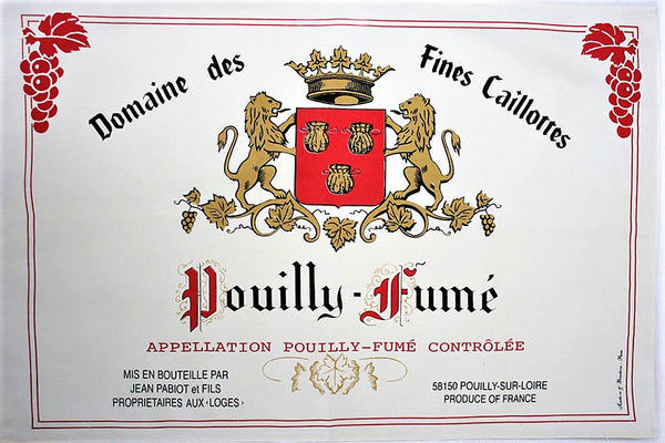 Pouilly Fume  Tea Towel