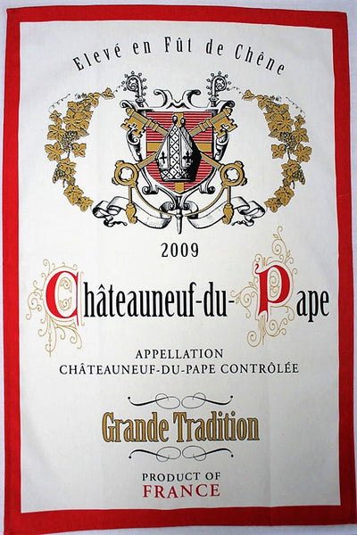 Chateauneuf-du-Pape  Tea Towel