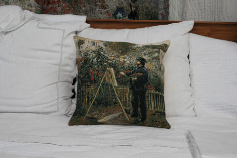 MONET PAINTING CUSHION COVER - FLEMISH TAPESTRIES