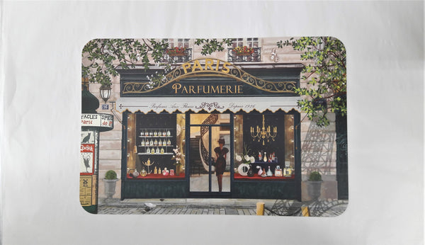 PARIS SHOPS -PARFUMERIE  PLACEMAT