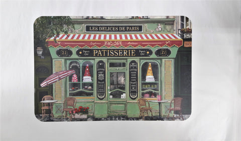 PARIS SHOPS -PATISSERIE  PLACEMAT