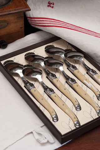 Desert Spoon Set - French Classic Laguiole
