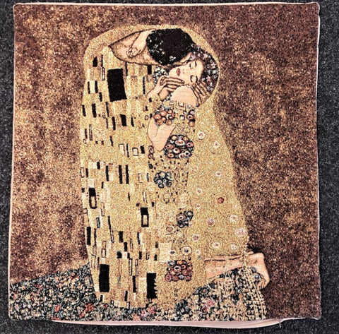 THE KISS  -KLIMT -  CUSHION COVER