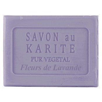 SHEA BUTTER SOAP - LAVENDER FLOWERS