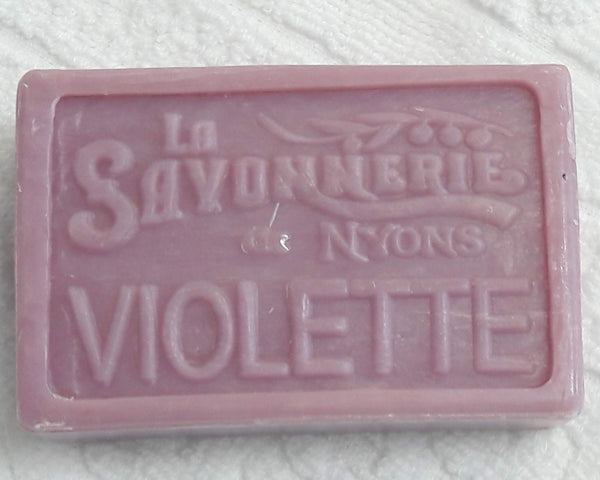 Violet Scented Shea Butter French Soap