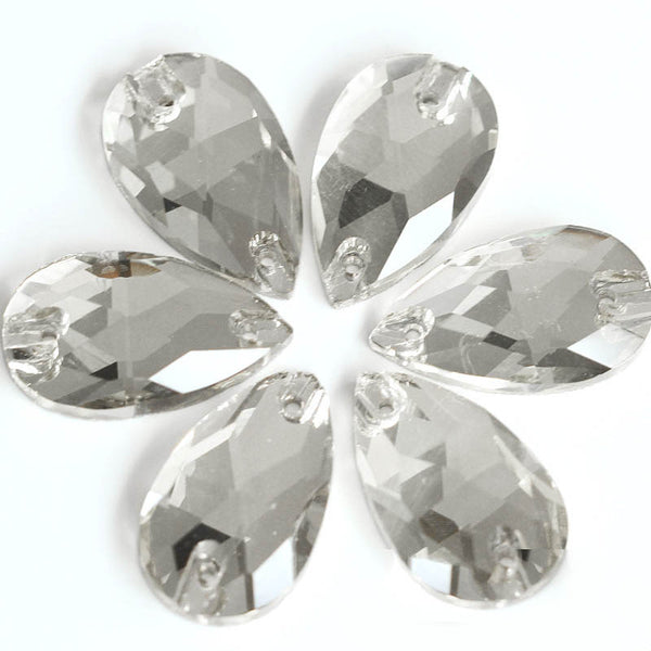 Crystal Sew-on Rhinestones Flat Back Crystal Decoration Premium
