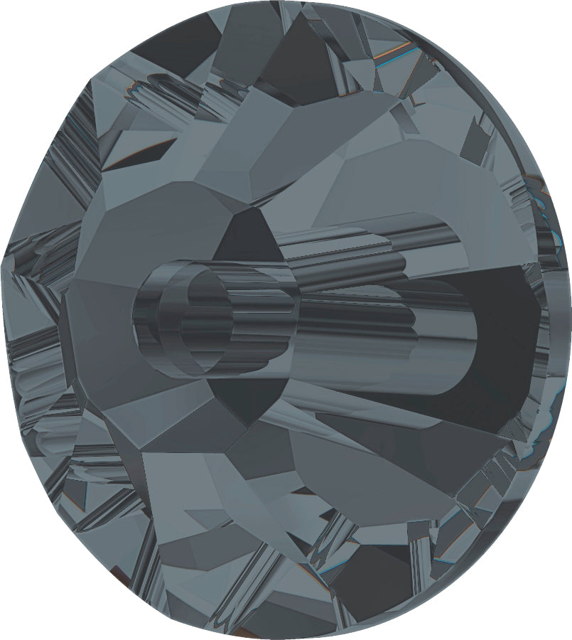 CRYSTAL DARK GREY SEW-ON Stellux™ Austrian Crystal 393 FLAT BACK