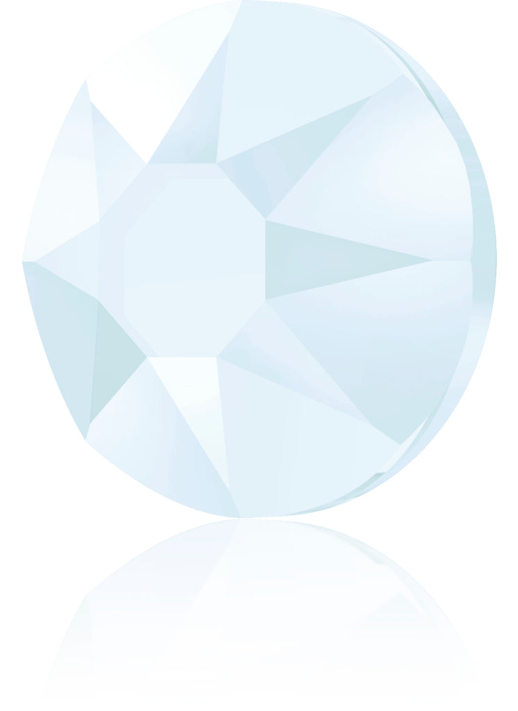 CRYSTAL POWDER BLUE HOTFIX SWAROVSKI® CRYSTAL XIRIUS ROSE 2078 FLAT BACK