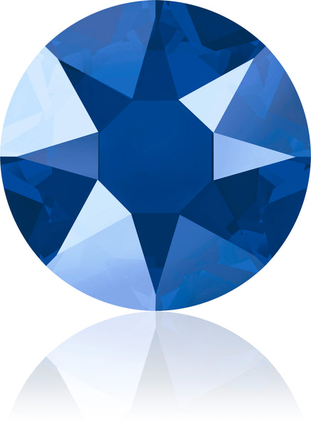 CRYSTAL ROYAL BLUE HOTFIX SWAROVSKI® CRYSTAL XIRIUS ROSE 2078 FLAT BACK