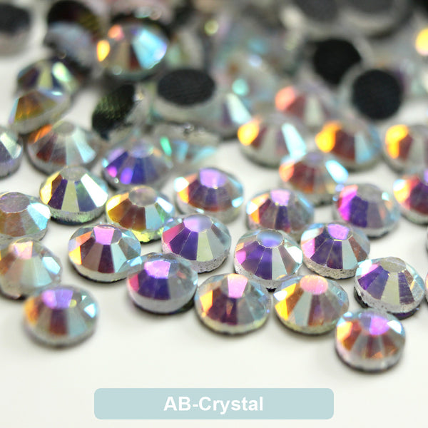 AB-Crystal DMC Hot Fix Rhinestone Flat Back