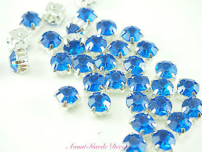 50pcs Sewing Rhinestones Stitch Crystal Gems