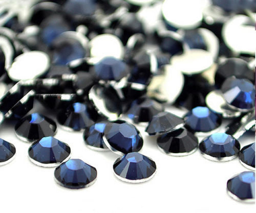 Royal Blue Non-Hotfix Flat Back Rhinestone