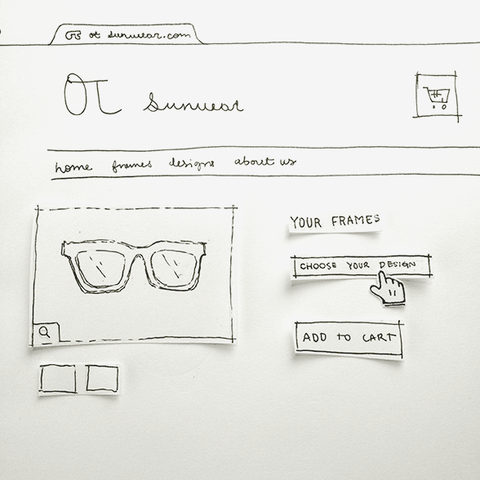 personalize your frames - otsunwear