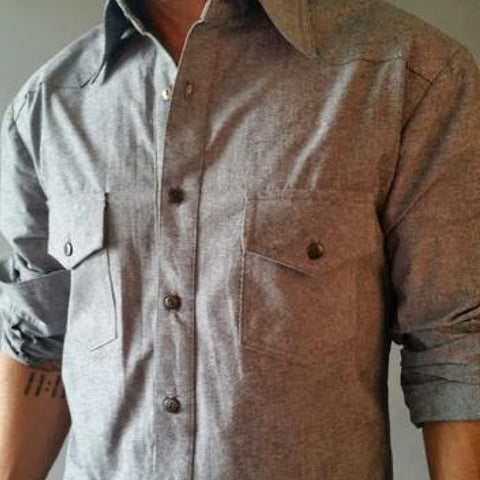 Cotton Linen Button Down (More Colors Available)