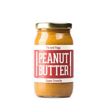 Fix & Fogg Peanut Butter - Super Crunchy